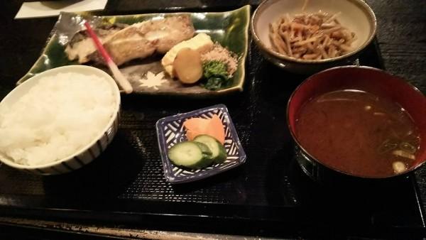 いち・焼き魚定食