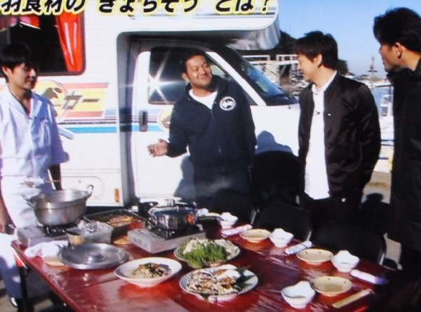 鳥羽野外コース料理01