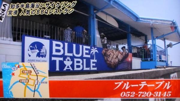 ブルーテーブル1